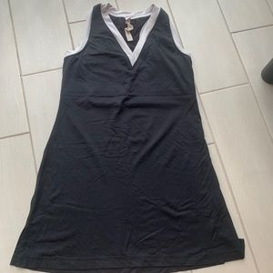 Lululemon V-Neck Sleeveless Mini Dress Black